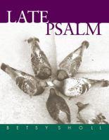 Late Psalm