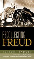 Recollecting Freud