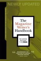 The Magazine Writer's Handbook