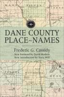 Cover of Dane County Place-Names