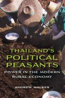 Thailand's Political Peasants