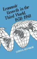 Economic Growth In The Third World, 1850-1980