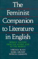 The Feminist Companion to Literature in English