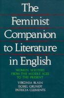 The Feminist Companion to Literature in English