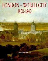 London--world City, 1800-1840