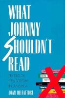 What Johnny Shouldn't Read