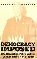 Democracy Imposed
