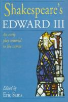 Shakespeare's Edward III