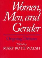 Women, Men & Gender