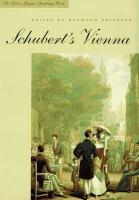 Schubert's Vienna