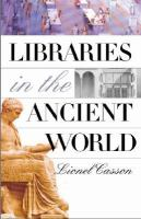 Libraries in the Ancient World