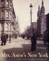 Mrs. Astor's New York