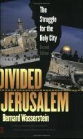 Divided Jerusalem