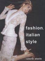 Fashion, Italian Style