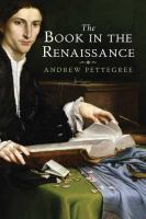 The Book in the Renaissance