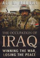 The Occupation of Iraq