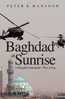 Baghdad at Sunrise