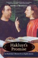 Hakluyt's Promise