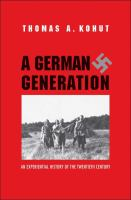 A German Generation