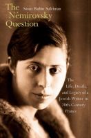 The Némirovsky Question
