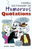 Cassell Dictionary of Humorous Quotations