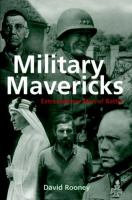 Military Mavericks