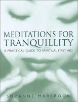 Meditations for Tranquillity