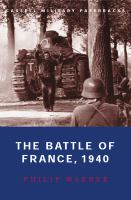 The Battle of France, 1940