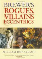 Brewer's Rogues, Villains & Eccentrics