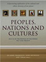 Peoples, Nations and Cultures