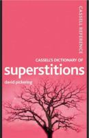Cassell's Dictionary of Superstitions