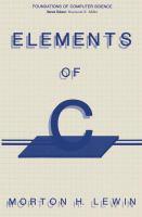 Elements of C