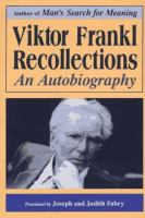 Viktor Frankl--recollections