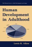Human Development In Adulthood