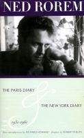 The Paris Diary and the New York Diary, 1951-1961