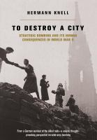 To Destroy A City