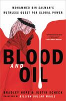 Media Cover for Blood and Oil: Mohammed bin Salman's Ruthless Quest for Global Power