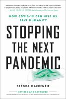 Stopping the Next Pandemic