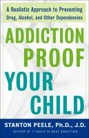 Addiction Proof your Child