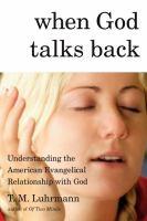 When God Talks Back