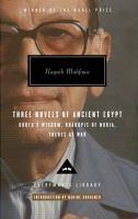 Three Novels of Ancient Egypt