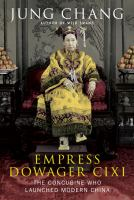 Cover of Empress Dowager Cixi: The