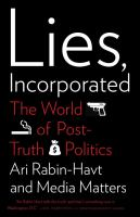 Lies, Incorporated