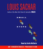 Small Steps (Audiobook on CD)