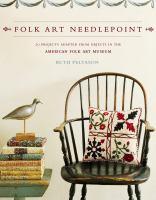 Folk Art Needlepoint