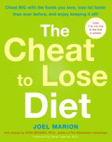 The Cheat to Lose Diet