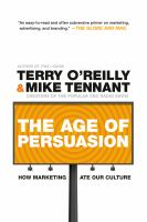 The Age of Persuasion