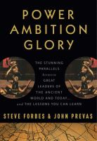 Power, Ambition, Glory