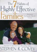 The 7 Habits of Highly Effective Families