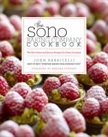 The Sono Baking Company Cookbook